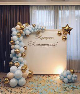 """Воздушные шары Одесса on Instagram_ """"Красивоооооо!!! Мы влюблены) _ #крещение #фотозонаОдесса"""""""