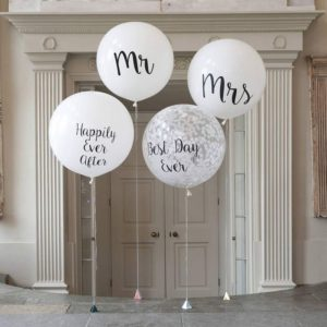 15 Amazing Wedding Balloon Ideas