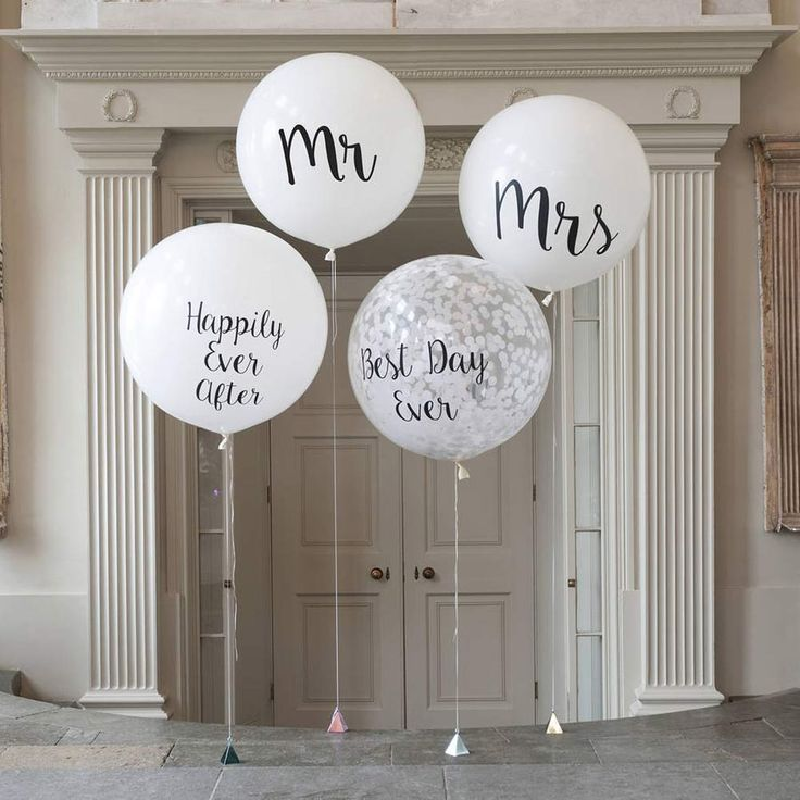 15 Amazing Wedding Balloon Ideas